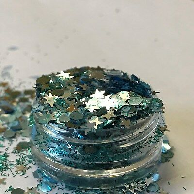 Chunky Glitter Loose Mix Pot Eye Shadow Nail Face Tattoo Festival Club Cosmetic 5