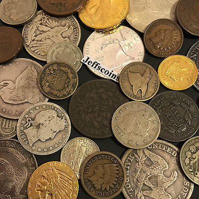 ✯Estate Sale Lot Old Us Coins✯ Money✯Gold Silver✯Big Value Collection 50 Years+✯ 3