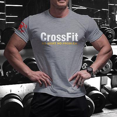 CrossFit NO SHIRT T-shirt GYM WOD Functional Training Sport Workout Strength C7+ 2