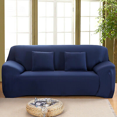 1/2/3 Seater Elastic Sofa Covers Slipcover Settee Stretch Floral Couch Protector 5