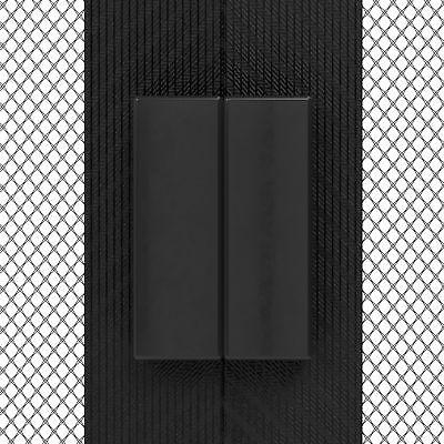 Rideau moustiquaire magnétique portes découpable sans perçage aimants JAROLIFT 2