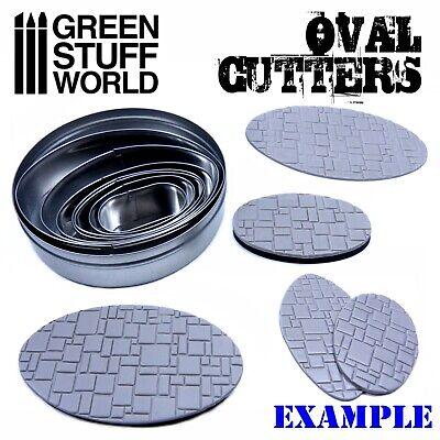 Cutter Ovale pour Bases - Acier Inoxydable Modélisme Hobby Miniatures AOS 2