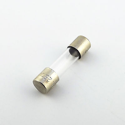 100Pcs 2A 2 Amp 250V 5 x 20mm Glass Tube Fuse Fast Blow