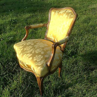 Baroque Chair Armchair Louis XV Art furniture Rococo Antique Vintage Type 6