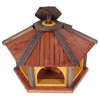 Mangeoire d'oiseaux mangeoires à oiseaux mangeoire avec le support bois jardin 3