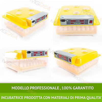 Incubatrice 48 Uova Professionale Automatica Girauova + Kit Svezzamento Gratis!! 7