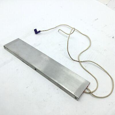 """Watlow 020120112 Heater Strips Length: 12"""", Width: 2"""" 120V, 100W 4"""