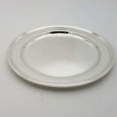 Tiffany & Co. Makers Sterling Silver ~5.5 In Cookie Saucer Bread Charger Plate 2