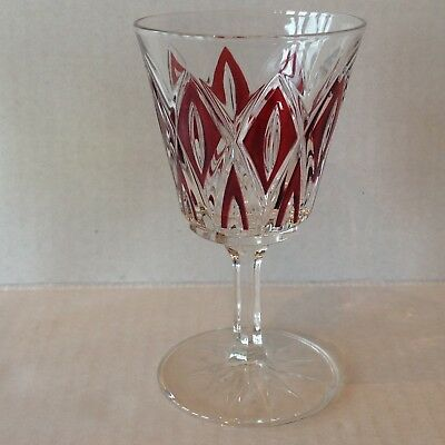 Vintage Stemware Cordial Glass Diamond coloured EACH SOLD SEPARATELY 5