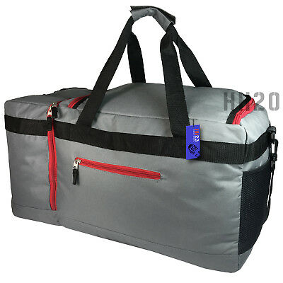 dd3ac69f1d55ec ... Large Holdall Big Sports Duffle Gym Bag Mens Boys School Travel Weekend  Luggage 4