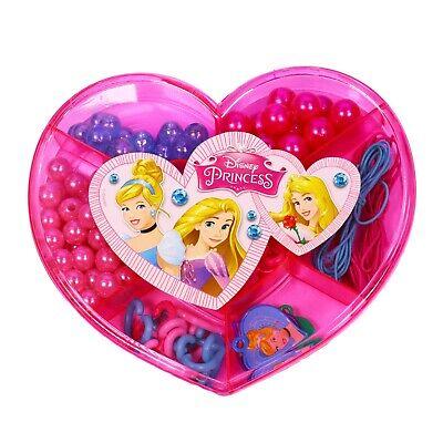 DISNEY Princess Create Your Own Jewellery Maker Set Beads Kit Bracelet Necklace 2