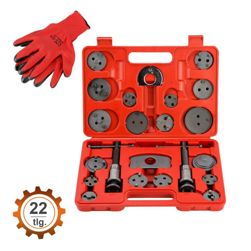 22 tlg. Bremskolbenrücksteller Set Bremskolben Satz Kolben Rücksteller Bremse 2