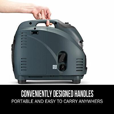 [20%OFF]GenTrax Portable Inverter Generator 3.5kw Digital Petrol Pure Sine New 8