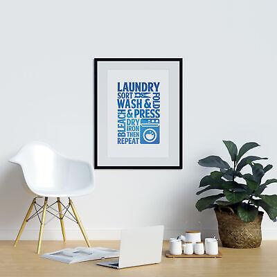 Utility Room Poster Laundry Sort Wash Laundry Room Wall Art Laundry Room Decor 3 49 Picclick Uk