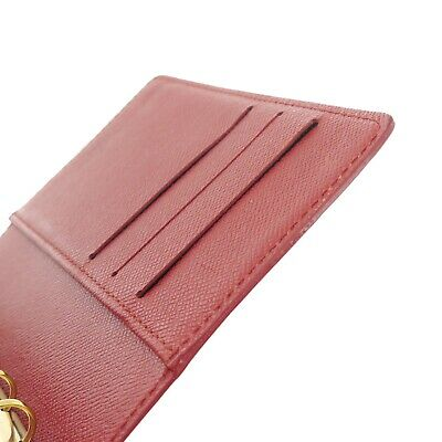 Auth LOUIS VUITTON Epi Agenda PM Day Planner Cover Red Leather R2005E #f41439 9