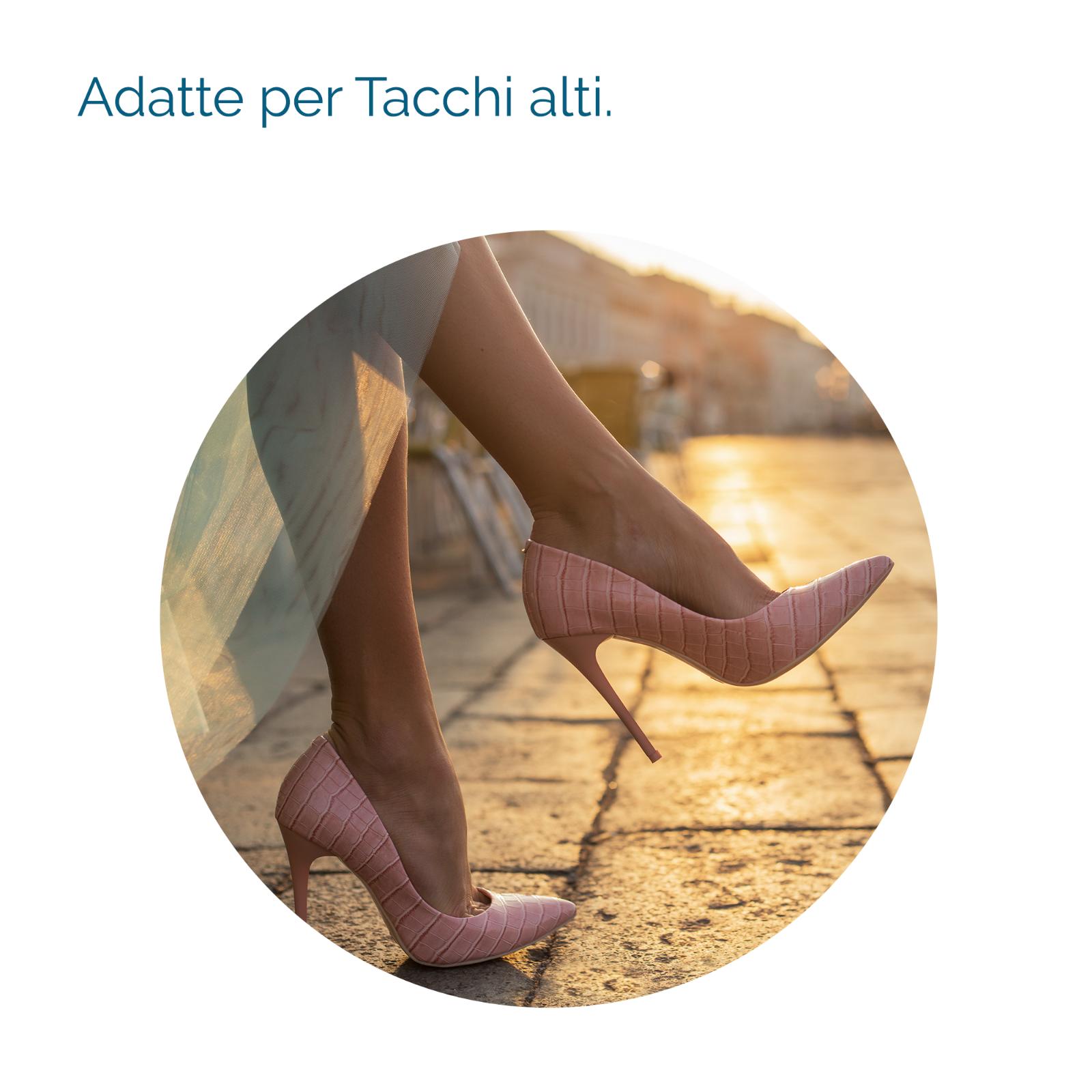 2 Solette TACCHI ALTI Donna Invisibili Pedicure SCHOLL GEL ACTIV Scarpe 5