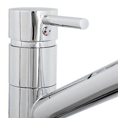 Robinetterie de cuisine pivotante robinet d'évier armature salle de bain lavabo 3