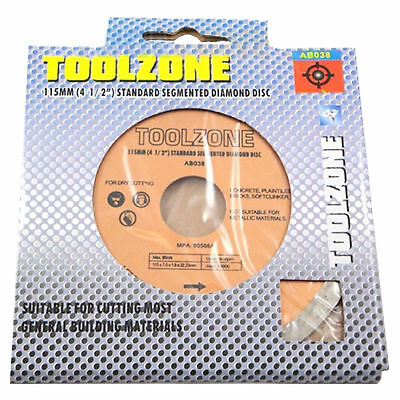 3 Pack Pro 115mm x 22.2mm Mortar Raking Diamond Disc 4.5 Inch Saw Cutting Discs 3