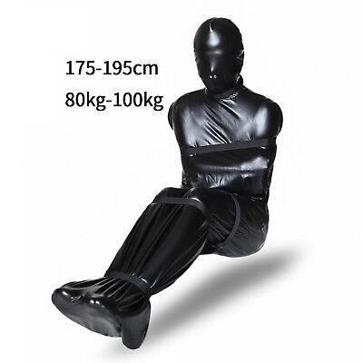 bondage Camicia di forza mummificazione gioco di ruolo mummia fetish maschera 9