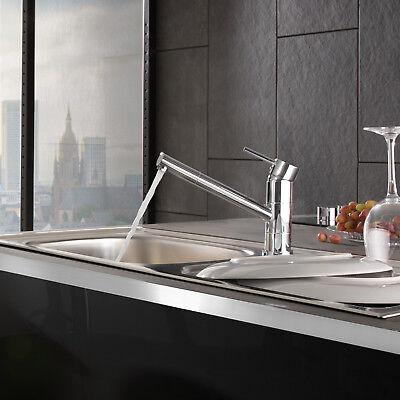 Robinetterie de cuisine pivotante robinet d'évier armature salle de bain lavabo 2