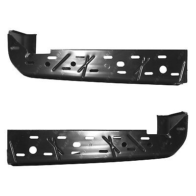 FO1102383 Primered Rear Bumper Cover Face Bar Ends for 2015-2020 Ford F150 w//Park Assist 15-20 MBI AUTO