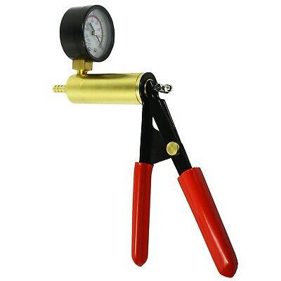 2 In 1 Brake Bleeder & Vacuum Pump Gauge Test Tuner Kit Tools DIY Hand Tools US 4