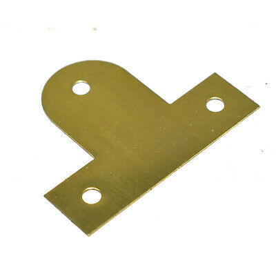 BENDABLE FIXING PICTURE PLATE BRASS PLATED HANGING BASKET FRAME MIRROR 25 - 45mm 5