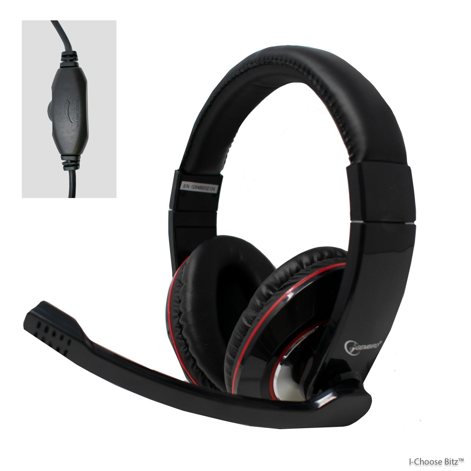 3 di 5 Cuffie per Giochi Microfono Skype con Pc USB Livechat a Buon Mercato a283cad837cc