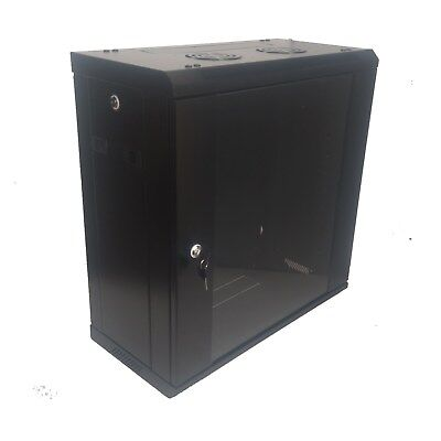"""12U 300mm Deep 19"""" Rack System Wall Mount Network Cabinet (Provision for 2 Fans) 2"""