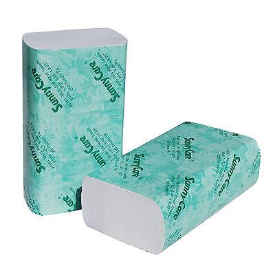 Sunny Care#5302 4000//CS Multifold Paper Towels Brown 250//Pk;16Pk//Cs NEW