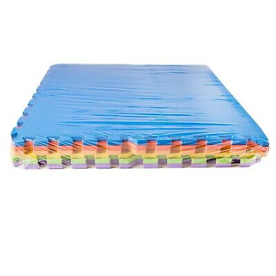 IncStores 24 SQFT Rainbow Play Interlocking Foam Floor Puzzle Mat - 6 Tiles 4