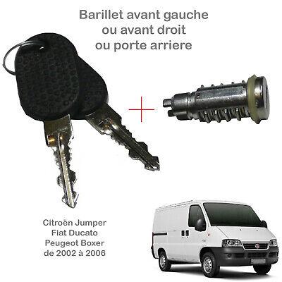 Boxer I Vis de serrure de porte avant pour Peugeot
