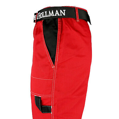 Arbeitshose Bundhose Berufsbekleidung Arbeitskleidung Rot Gr. 46 - 62 NEU TOP