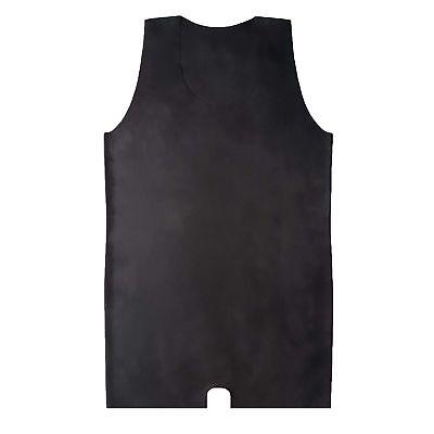Latexbody aus Rubber in schwarz, Einheitsgröße 7