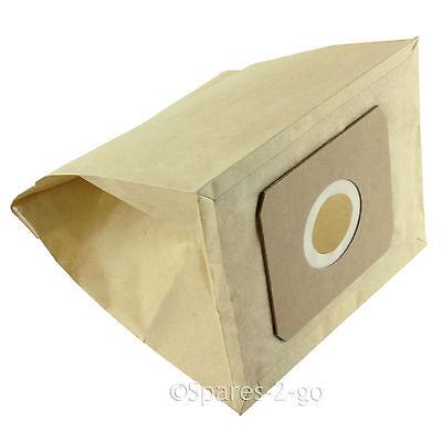 5 Pack Argos Proaction /& Value Range VC-401 /& CJ021//32//051 Paper Dust Bag