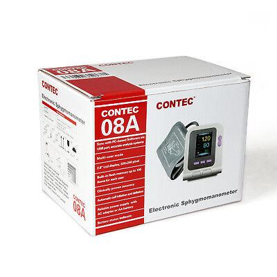 CONTEC-08A Digital Blood Pressure Monitor Adult/Pediatric/Child Upper Arm Cuffs 3