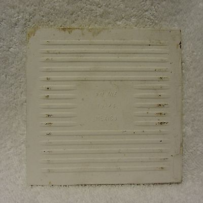 VINTAGE ¼ X ¼ DAL Gold Yellow Marble Ceramic Tile USA NOS - Daltile spokane