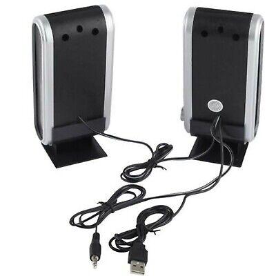 Usb Speakers Laptop Portable Multimedia Sound Music Pc Desktop Tv Speakers Mac 3