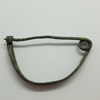 Art Bronze Fibula Ornament / Celtic Scythians Koban 1000BC. 4