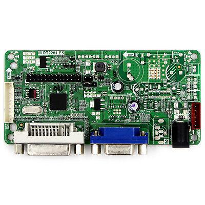DVI VGA LCD driver board work for 19inch 1280x1024 LM190E02 M190EG03 LCD panel 3