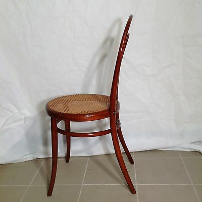 Seltener Original Thonet Stuhl Nr 14 Erste Etikette Grun