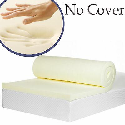 Lavish 100% Memory Foam Mattress Topper + All Sizes,Depths & Cover Options 2