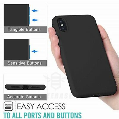 Matte Transparent Ultra-Thin Slim Case Cover Skin for iPhone X Xs/Max,11 Pro,8 4