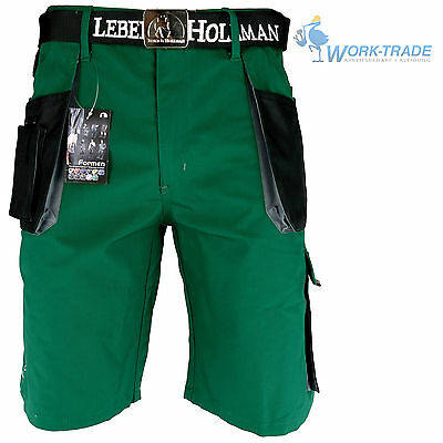 Arbeitshose Kurze Hose Kurz Bermuda Shorts Dunkelgrün Schwarz Gr. S - XXXL