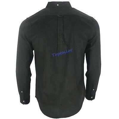 Men's Corduroy Ex Chainstore Men's Long Sleeves Cotton Winter Casual Shirt Top 3