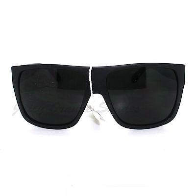 SUPER DARK LENS Black Square Frame Sunglasses Mens Fashion - $9.95 ...