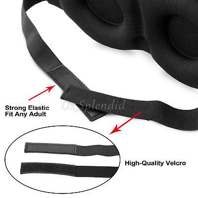 Travel Sleep Eye Mask soft 3D Memory Foam Padded Shade Cover Sleeping Blindfold 7