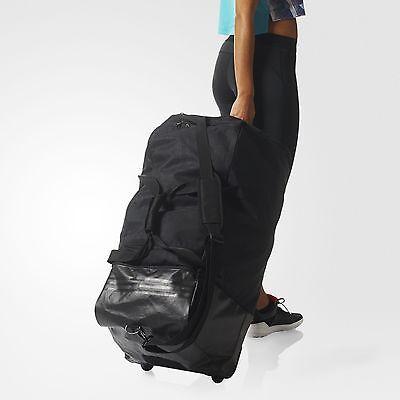 0b78a596bcb8 ... Adidas Duffel 3-Stripes Wheeled Team Training Bag (EXTRA LARGE) AK0001 7