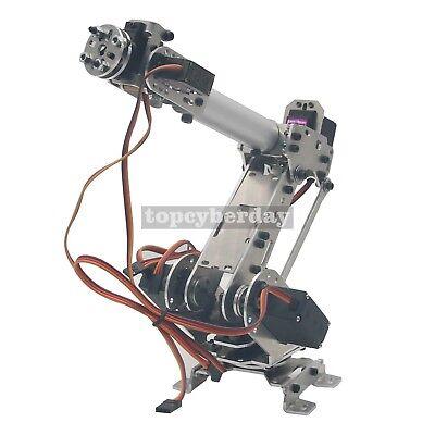 6-Axis S6 Industrial Mechanical Robot Arm Steel Metal Robotic Manipulator DIY UK 3