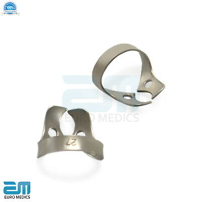 Dental Rubber Dam Clamps Molars Tooth Isolation Dentist Endodontic Instrument CE 4
